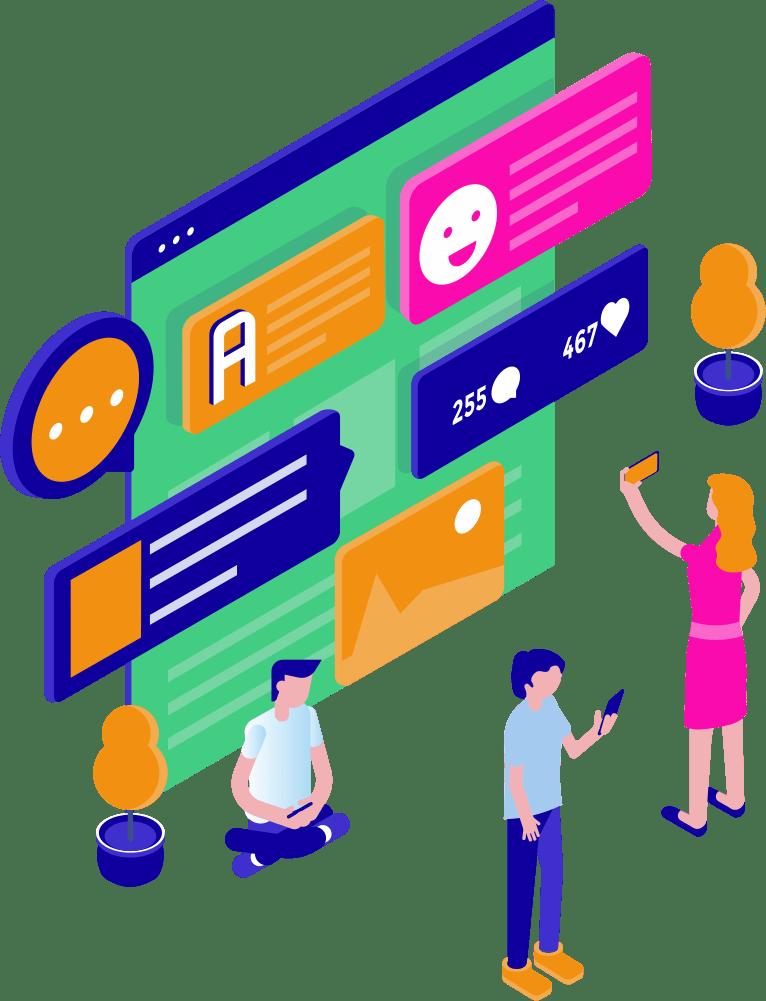 Ведение и продвижение социальных сетей